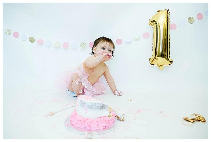 Orange County, NY/Aubrey's First Birthday [CakeSmash]